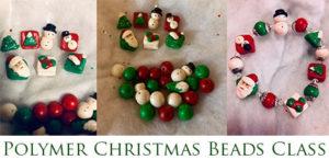 christmas polymer bead class