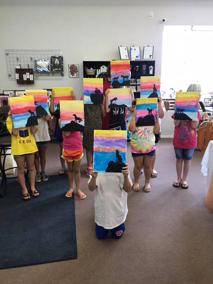 paint and sip and art parties