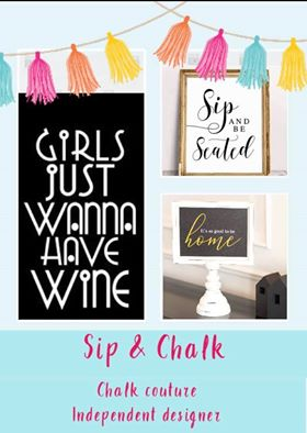 wine and signs