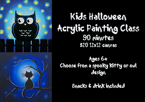 kids halloween paint designs