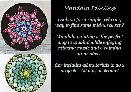 mandala painting class