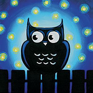 spooky owl