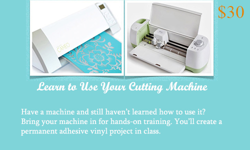 vinyl cutting class