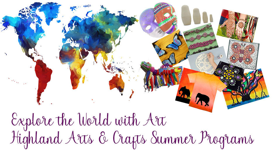 explore the world with art summer program