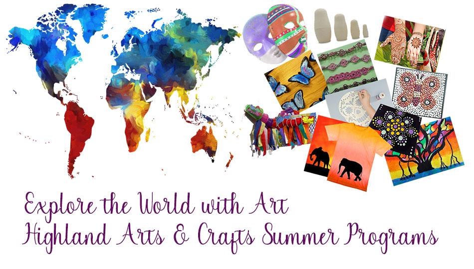 explore the world with art summer program