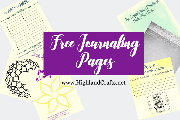 free art journaling pages