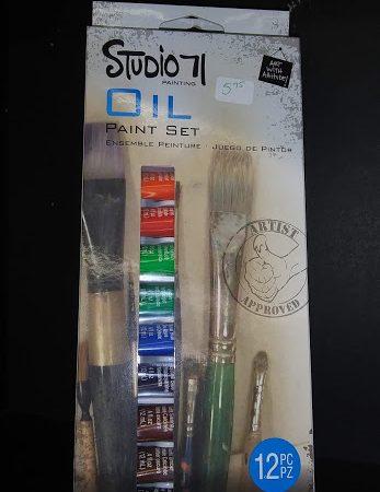 Studio 71 Oil Paint Set
