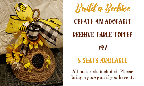 beehive table topper class